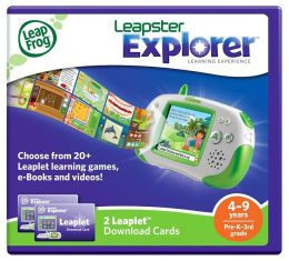 LeapFrog Leapster Explorer Leaplet Download Cards (set of 2)