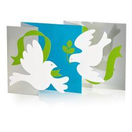 Festive Doves Christmas Boxed Card