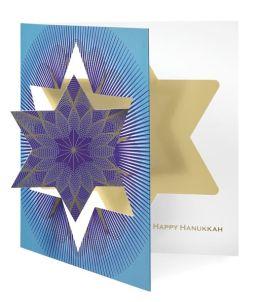 HANUKKAH STAR HANUKKAH BOXED CARD