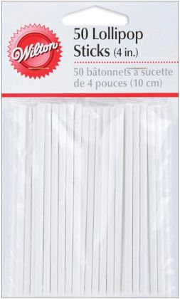 Lollipop Sticks 50/Pkg-4