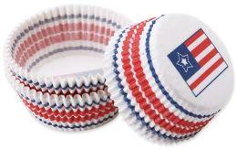 Baking Cups-Patriotic 75/Pkg - Standard