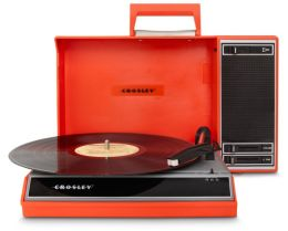 Spinnerette Portable USB Turntable- Red