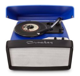 Collegiate Portable USB Turntable- Blue