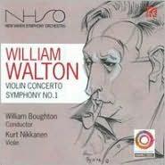 William Walton: Violin Concerto; Symphony No. 1