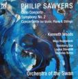 CD Cover Image. Title: Cello Concerto / Symphony No. 2 (Sawyers / Orchestra Of The Swan / Woods), Artist: Steinberg Duo