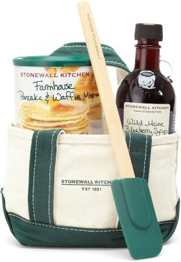 Stonewall Kitchen Mini Blueberry Tote Grab & Go Gift Set