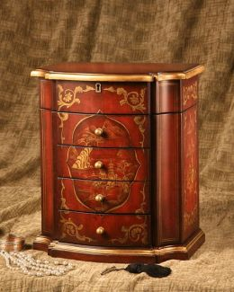 Accent Treasures 1003 Ruby- Jewelry Chest
