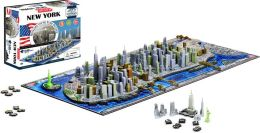 NEW YORK- City Skyline Puzzle 4D Cityscape