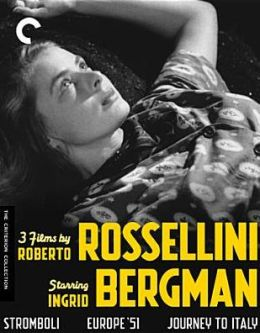Criterion Collection: 3 Films by Roberto Rossellini Starring Ingrid Bergman