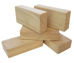 Hardwood Unit 5 Piece Block Set