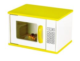 Color-Bright Kitchen Microwave
