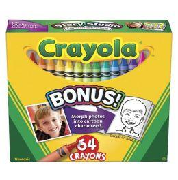 Crayola Pink Peach Gray White