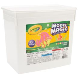 Crayola 2lb Model Magic Bucket Neon