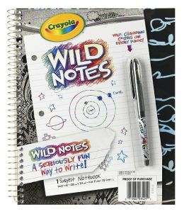Wild Notes 1 Subject Notebook