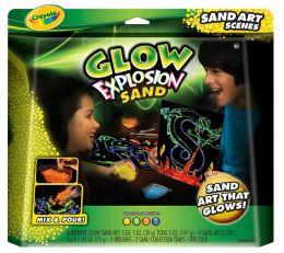 Glow Explosion Sand Art Scenes