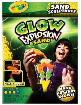 Glow Explosion Sand Art Sculptures