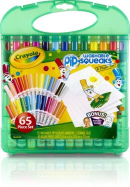 25 ct. B/L Pip-Squeak Markers/Paper Storage Set