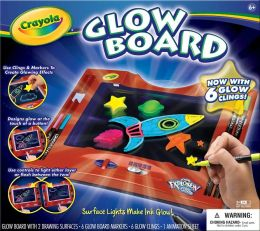 Color Explosion Glow Board with Clings