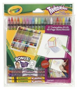Crayola Twistable Pencils Sketch 'N Shade Set