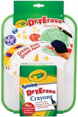 Dry Erase Crayon & Board set