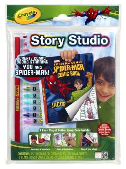Crayola Story Studio Disney Marvel Spiderman Comic Book Maker