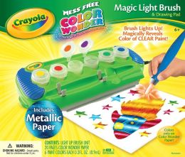 Crayola Color Wonder Magic Light Brush with Metallic Paper