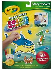 Crayola Color Wonder Story Stickers & Markers