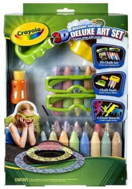 Crayola 3D Chalk Deluxe Kit