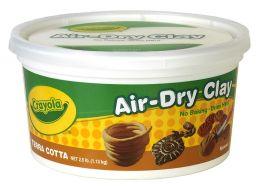 Crayola 2.5 Air Dry Clay Terra Cotta