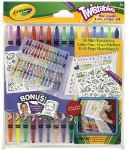 Crayola Twistables Mini Crayon Color 'N Paper Set