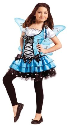 Bluebelle Fairy Child Costume: Medium (8/10)