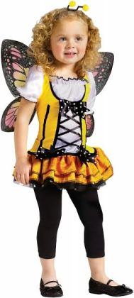 Butterfly Princess Toddler Costume: Toddler (3T/4T)
