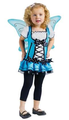 Bluebelle Fairy Toddler Costume: Toddler (3T/4T)