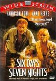 Video/DVD. Title: Six Days, Seven Nights