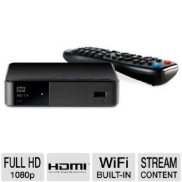 WD TV Live Streaming Media Ply