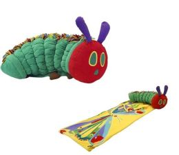 Zoobies SPVHC102 Very Hungry Caterpillar w/Sleeping Bag