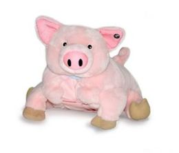 Zoobies BP310 Puddles the Pig- 3 in 1 animal- pillow & blanket