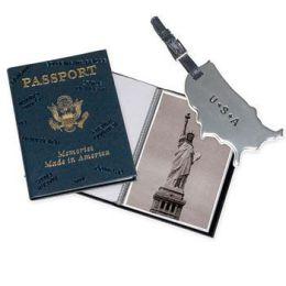 Passport Photo Album/Luggage Tag - Honeymoon