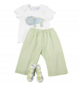 Lil Buddy Lion 3 Piece Pant Set
