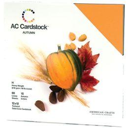 American Crafts Cardstock Pack 12