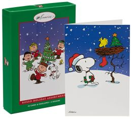 Peanuts Assortment Christmas Boxed Cards