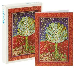 Unicef Pear Tree Christmas Boxed Card