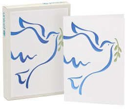 Unicef Soaring Dove Christmas Boxed Card