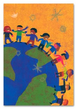 Unicef Kids Around The World Christmas Boxed Card