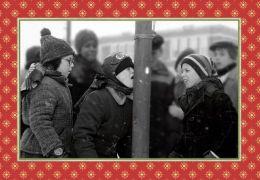 Christmas Story Tongue On Pole Christmas Boxed Card