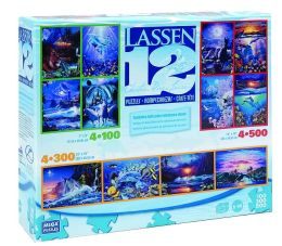 12 in 1 Multipack Box Puzzles