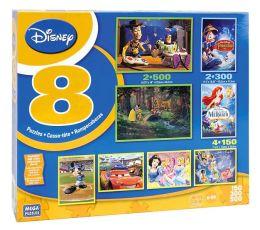 Disney 8 in 1 Puzzle Multipack