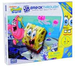 Breakthrough PuzzleLevel 1 SpongeBob & Patrick