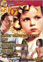 Shirley Temple/Sabu/Charles Laughton/the Three Stooges