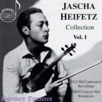 Jascha Heifetz Collection Volume 1